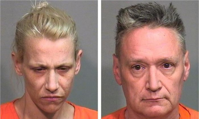 Mugshots of JoAnn Cunningham and Andrew Freund Sr. Photo: McHenry County Sheriff's Department