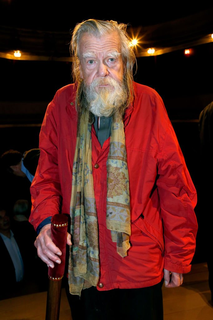 "Michael Lonsdale assiste au ""Prix Du Brigadier 2016"" au Théâtre Montparnasse le 17 février 2017 à Paris, France. 