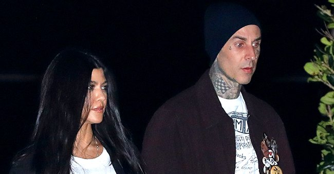 Kourtney Kardashian's Boyfriend Travis Barker Gets Her Name Tattooed Across His Chest