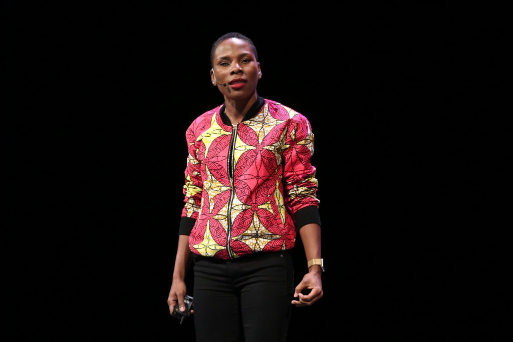 Luvvie Ajayi attends Hello Sunshine x Together Live at Auditorium Theatre of Roosevelt University on November 12, 2018.   Photo: Getty Images