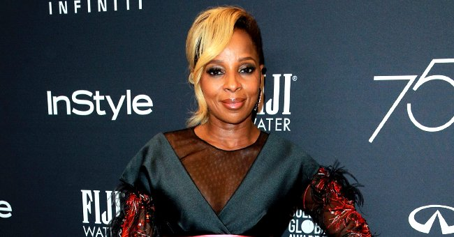 See Mary J Blige's Fresh New Look Featuring Blonde Pigtails and Massive Jewelry (Photo)