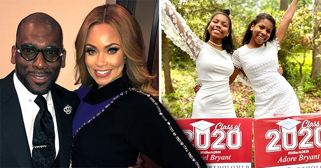 Gizelle and Jamal Bryant's Twin Daughters Stun in White Dresses for Graduation