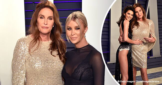 Caitlyn Jenner Reveals Long Toned Legs While Stepping out with Her Girlfriend in a Racy Dress