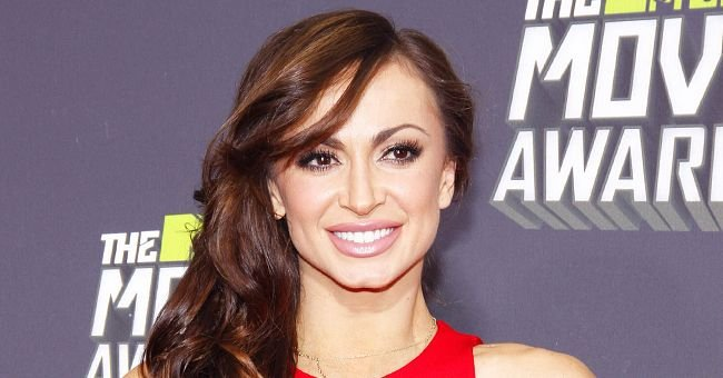 DWTS Alum Karina Smirnoff Posts First Photo of Son Theo and He Looks So Cute