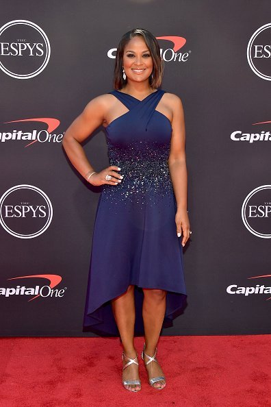Laila Ali at The 2019 ESPYs on July 10, 2019 | Photo: Getty Images