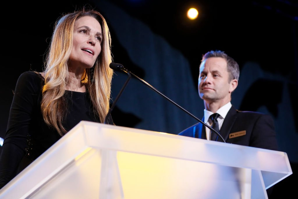 Chelsea Cameron and Kirk Cameron speak at the Save the Storks 2nd Annual Stork Charity Ball at the Trump International Hotel on January 17, 2019 | Photo: GettyImages