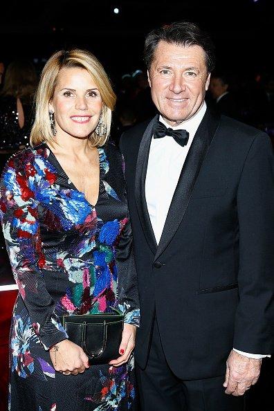 La photo de Christian Estrosi avec son épouse Laura Tenoudji | Source: Getty Images / Global Ukraine