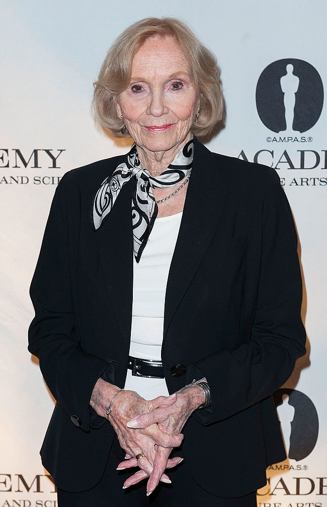 Eva Marie Saint attends The Academy Of Motion Picture Arts And Sciences' Hosts The Academy Nicholl Fellowships In Screenwriting Awards at AMPAS Samuel Goldwyn Theater on November 7, 2013 | Photo: Getty Images