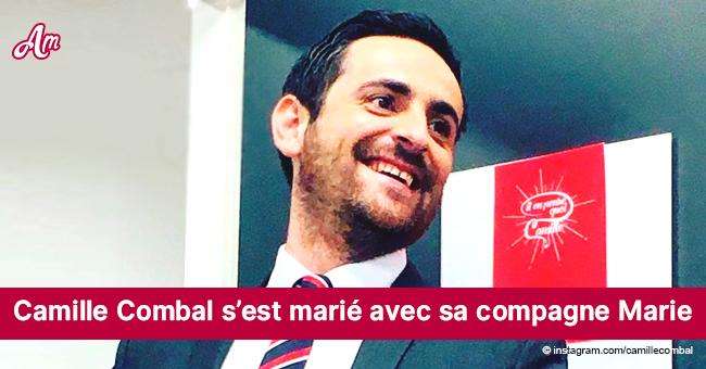 Camille Combal a épousé sa compagne Marie