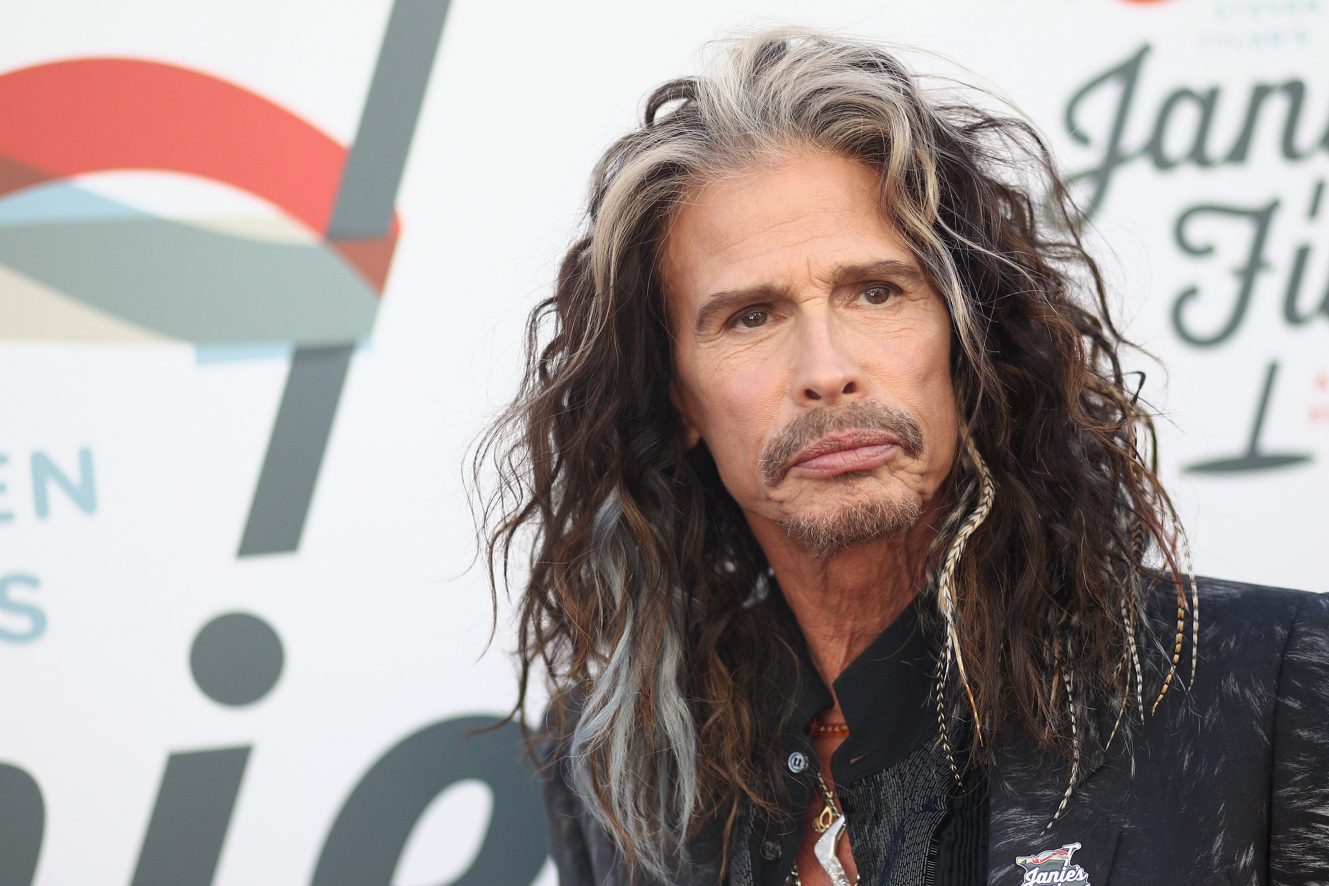 Steven Tyler at his Grammy Awards Viewing Party benefiting Janie's Fund | Photo: Getty Images