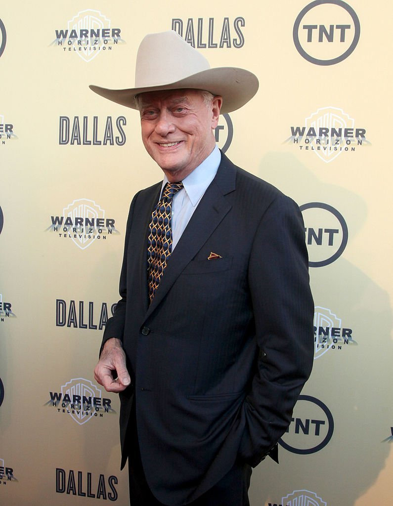 """Larry Hagman attends the gala premiere screening of """"Dallas"""" hosted by TNT and Warner Horizon at the Winspear Opera House  