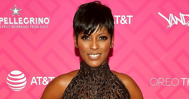 Tamron Hall's Son Moses Rocks Blue Overalls as He Enjoys Playing outside in the Snow (Photo)