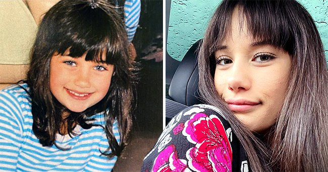 John Travolta's Daughter Ella Posts a Cute Childhood Snap As She Reveals Her New Hairstyle