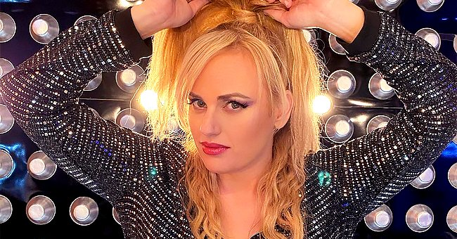 Rebel Wilson Zips Her Figure into a Tight & Glittery 80s Inspired Catsuit — See Fan Reactions