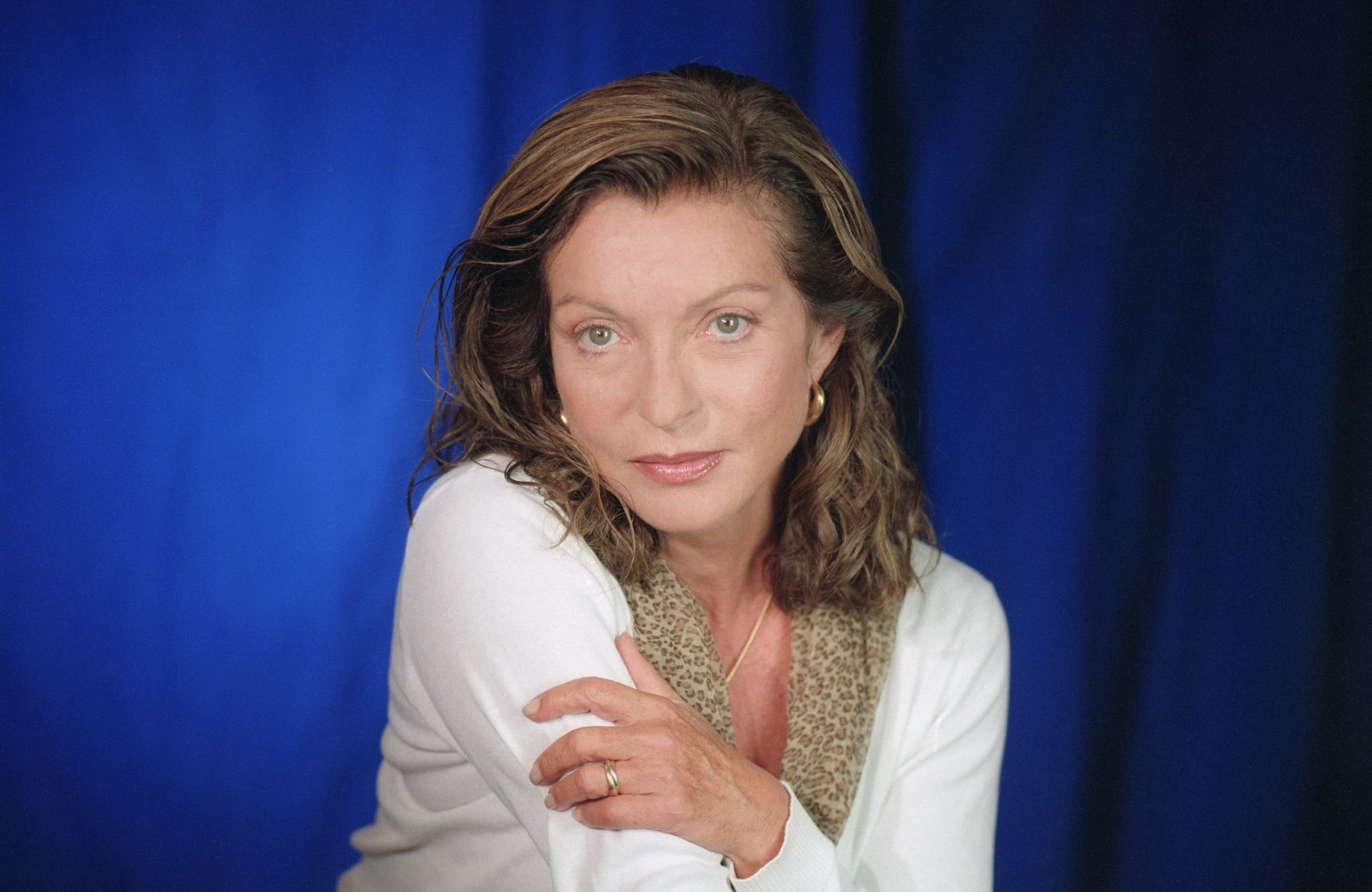 Marie-France Pisier en 1999 au festival du film américain de Deauville. l Photo : Getty Images