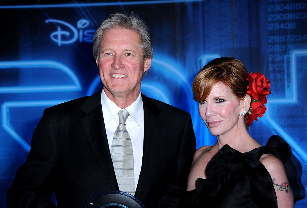 """Actor Bruce Boxleitner and actress Melissa Gilbert arrive at the world premiere of """"TRON: Legacy"""" held at the El Capitan Theatre on December 11, 2010   Photo: Getty Images"""