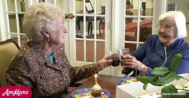 2 mujeres que se conocieron hace 84 años aún son mejores amigas y celebran sus cumpleaños cada año