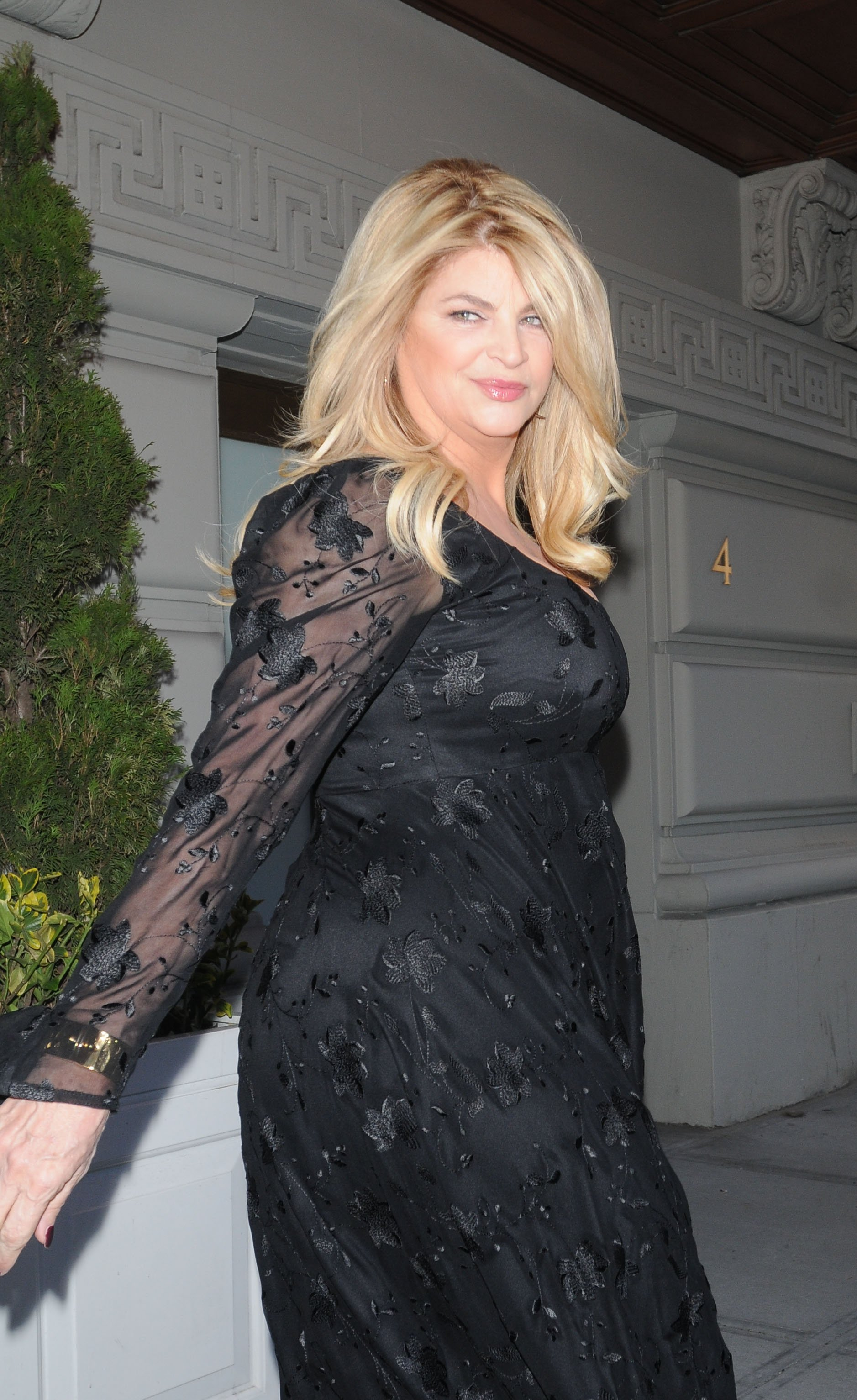 Kirstie Alley on March 16, 2010 in New York City | Photo: Getty Images/Global Images Ukraine
