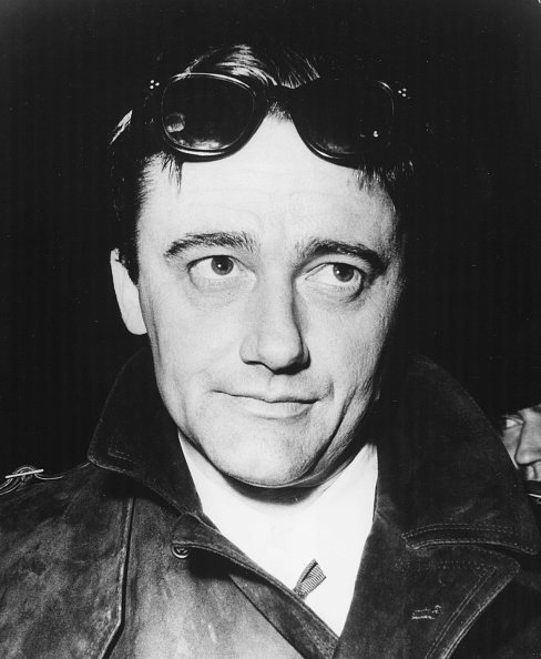 Robert Vaughn pictured on his arrival at London Airport, March 21, 1966. | Source: Getty Images.