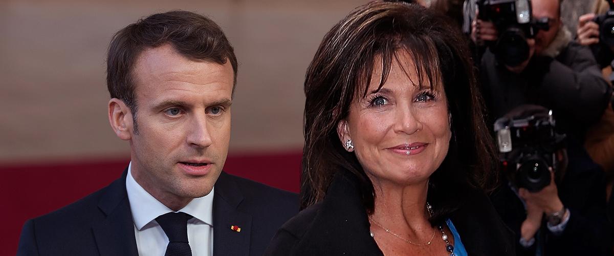 """Le compliment d'Anne Sinclair sur Emmanuel Macron dans """"Au tableau"""""""