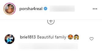 A fan's comment on Porsha Williams' post on Instagram | Photo: Instagram/porsha4real