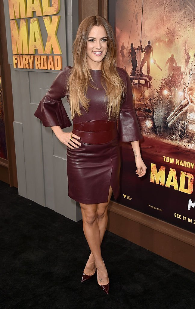 """Riley Keough attend s the premiere of """"Mad Max: Fury Road"""" in Hollywood, California on May 7, 2015 