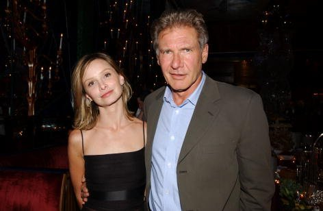 Harrison Ford and Calista Flockhart at the Russian Tea Room in New York City on July 17, 2002| Photo: Getty Images