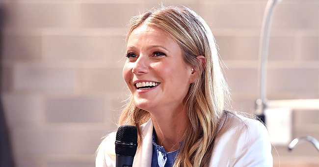 Gwyneth Paltrow Shares Cute Pic with Daughter Apple and Son Moses While Working from Home