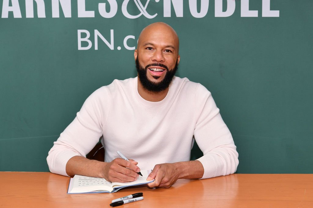 """Common promoting his book, """"Let Love Have the Last Word,"""" at Barnes and Noble on May 7, 2019 at 5th Avenue, New York City. 