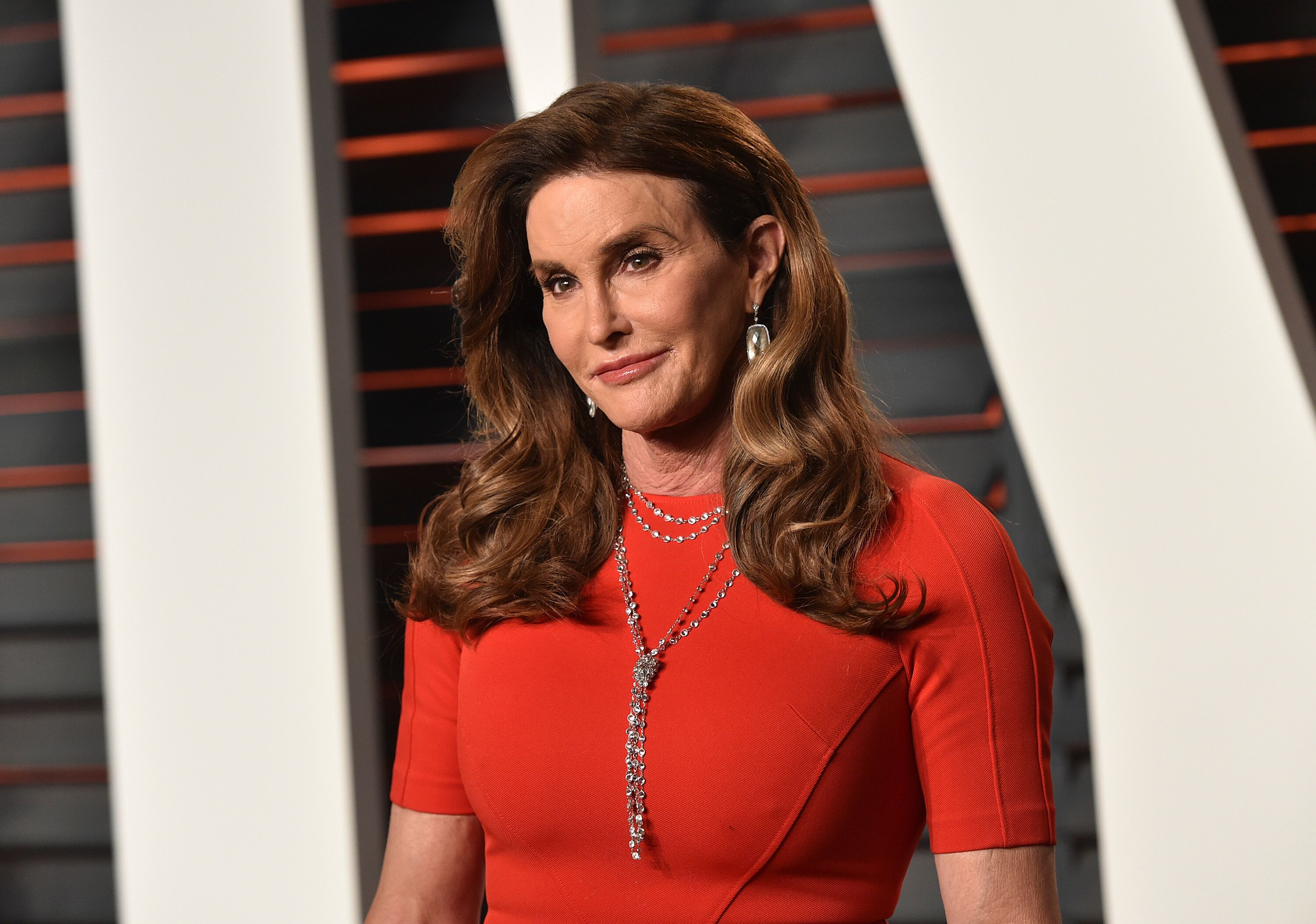 Caitlyn Jenner arrives at the 2016 Vanity Fair Oscar Party Hosted By Graydon Carter. | Source: Getty Images