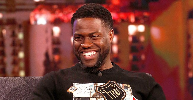 Kevin Hart Poses in Heartwarming Photos at Home with His 2 Look-Alike Sons & Cute Daughters