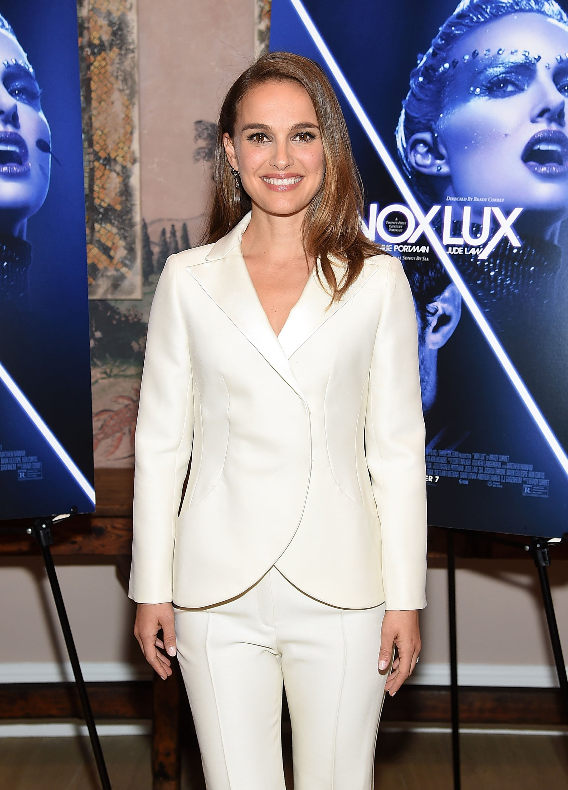 """Natalie Portman at the """"Vox Lux"""" New York screening on December 13, 2018 in New York City. 