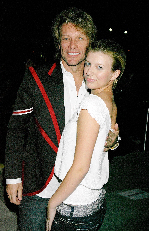 Jon Bon Jovi And Stephanie Rose at Nikki Lund'S 'White Trash Beautiful' Fashion Show. | Source: Getty Images