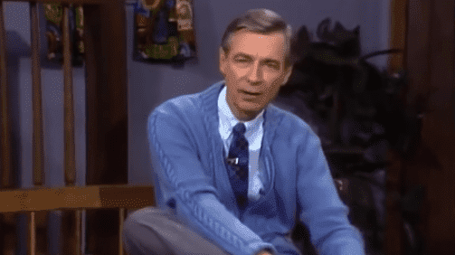 Fred Rogers during his television show. | Source: Youtube.com/Today