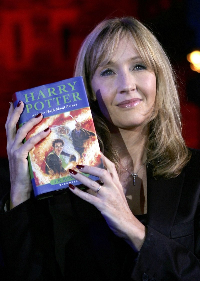 J. K. Rowling on July 15, 2005 in Edinburgh, Scotland | Photo: Getty Images
