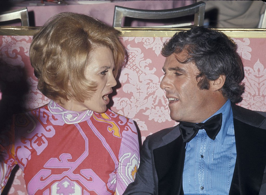 Angie Dickinson and Burt Bacharach in Beverly Hills, California in April 1971   Photo: Getty Images
