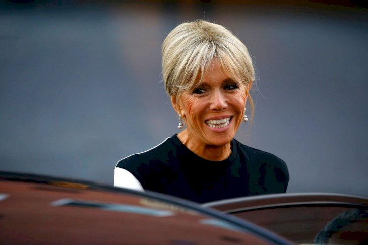 Brigitte Macron qui sourit | Photo : GettyImage