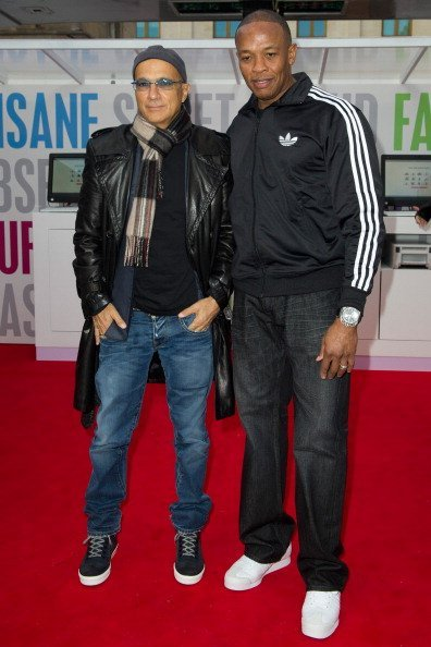 Jimmy Lovine and Dr Dre attend the Beats By Dr Dre at Covent Garden | Photo: Getty Images