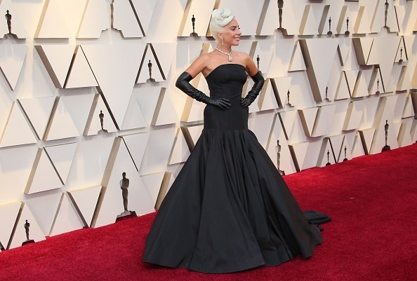 Lady Gaga on the red carpet at the the 91st Annual Academy Awards at Hollywood and Highland on February 24, 2019 in Hollywood, California. | Photo: Getty Images