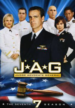"The official promotional picture of the seventh season of ""Jag."" 
