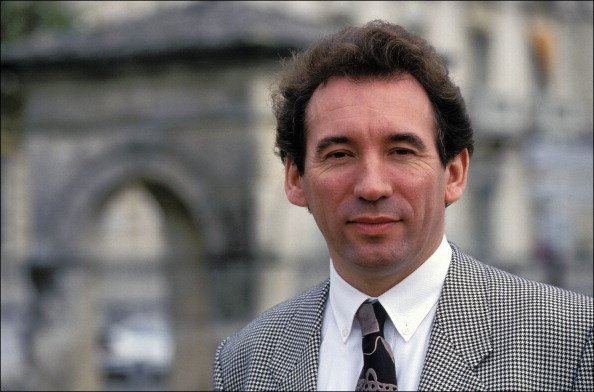 François Bayrou le 12 décembre 1992. | Photo : Getty Images