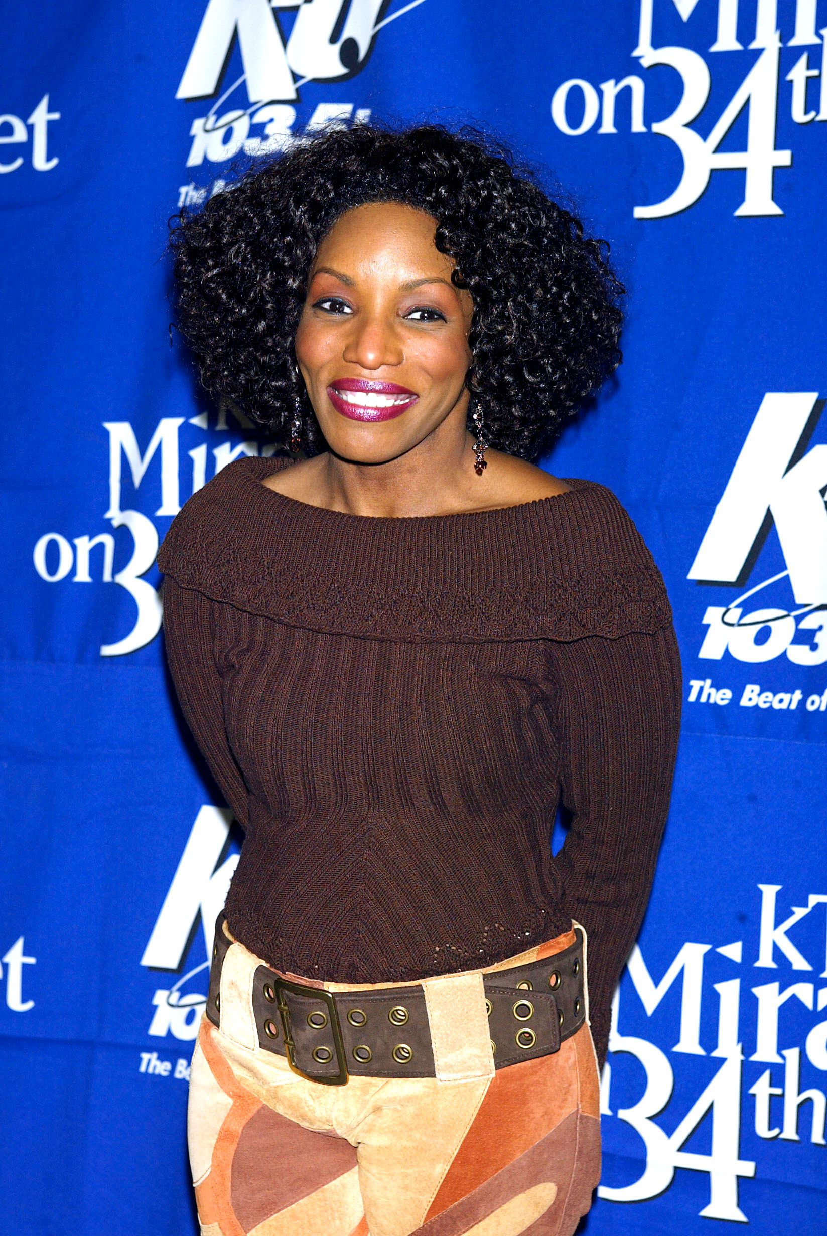 """Stephanie Mills at """"KTU's Miracle on 34th Street"""" hoilday concert at Madison Square Garden in New York City on December 18, 2002 