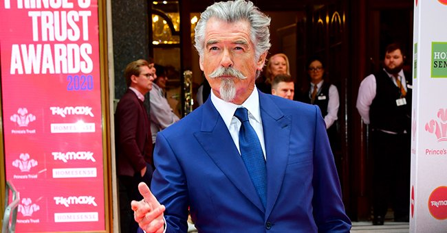 Fans Praise Pierce Brosnan's Skills after He Gave Glimpse at His 1995 Painting in Throwback Pic