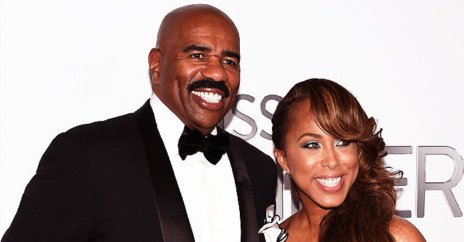 Steve & Marjorie Harvey Are Proud Grandparents as Granddaughter Rose, 5, Graduates