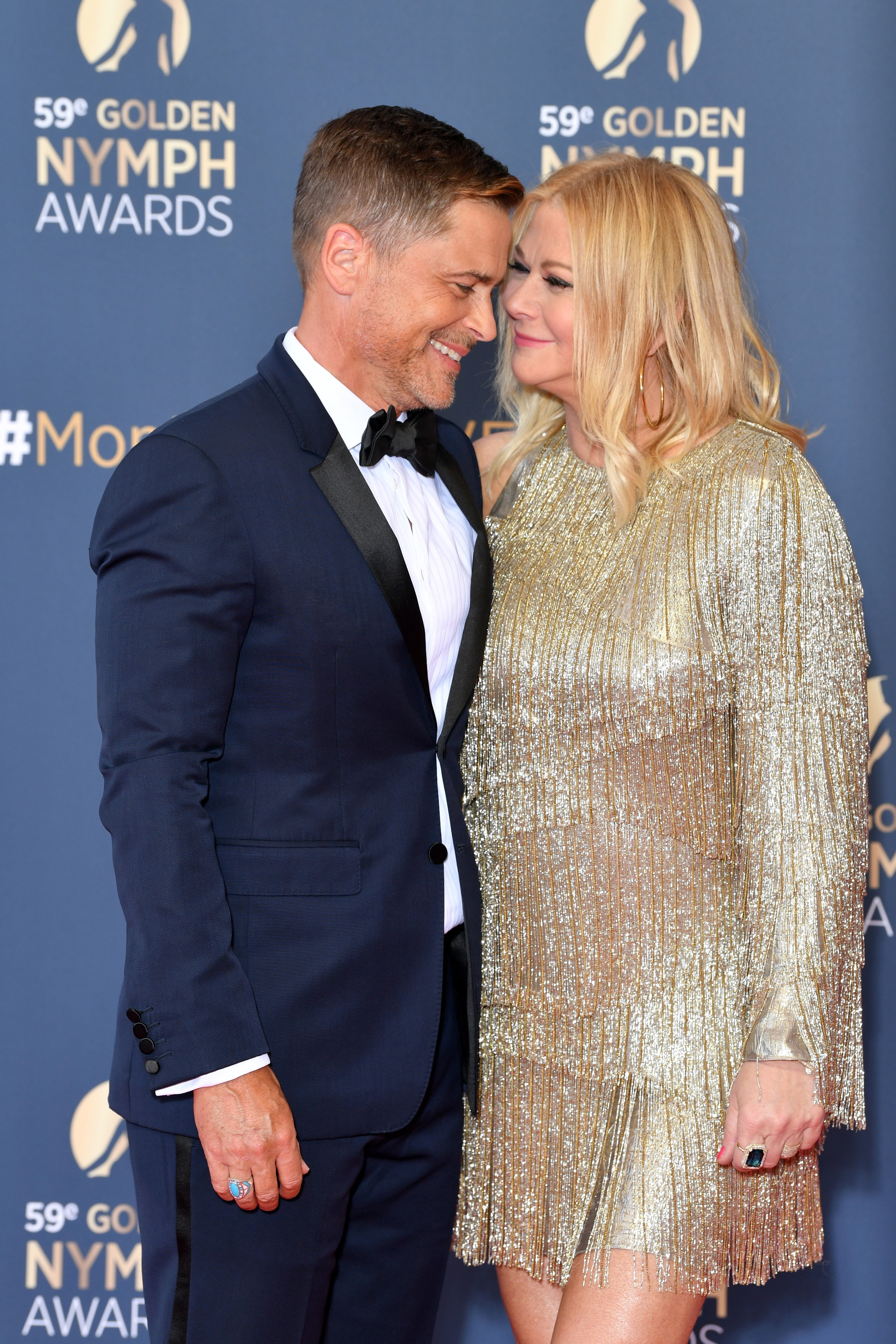 Rob Lowe and wife Sheryl Berkoff attend the closing ceremony of the 59th Monte Carlo TV Festival on June 18, 2019, in Monte-Carlo, Monaco. | Source: Getty Images.