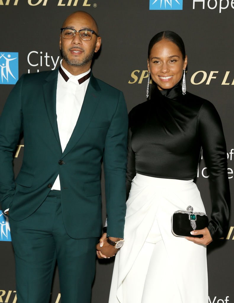 Swizz Beatz and Alicia Keys attend the City Of Hope's Spirit of Life 2019 Gala | Photo: Getty Images