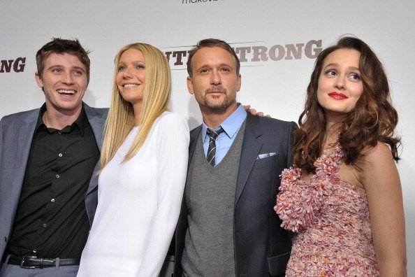 Garrett Hedlund, Gwyneth Paltrow, Tim McGraw, and Leighton Meester at the Academy of Motion Picture Arts and Sciences on December 14, 2010 in Beverly Hills, California. | Photo: Getty Images