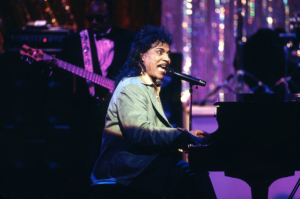 Little Richard performs live at the Gala for the President at Ford's Theatre in 1994. I Image: Getty Images.