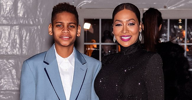 La La Anthony From 'Power' Shares Photos With Her Son Kiyan as They Attend amfAR Gala 2020 Benefit