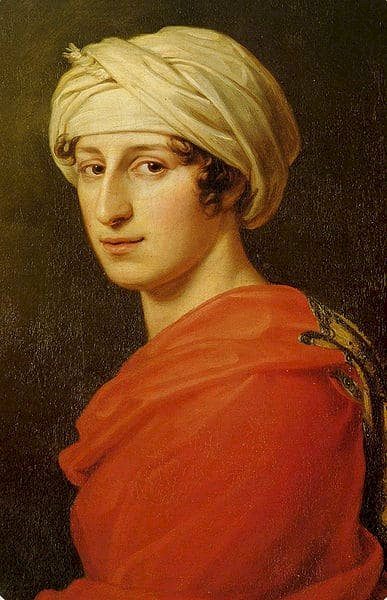 Portrait of Antonie Brentano, the woman thought to be Ludwig van Beethovens